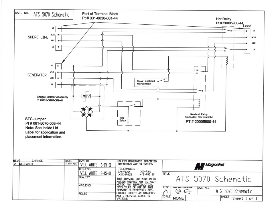 Wiring Diagram For Rv Transfer Switch : Ats generator automatic transfer switch